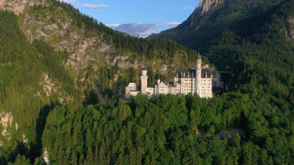 Thumbnail for Schloss Neuschwanstein Bayerische Alpen Deutschland
