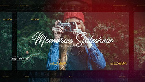 Memories Slideshow / Photo Album / Family and Friends / Travel and Journey