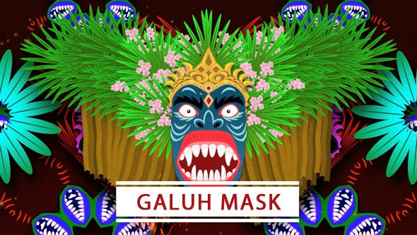 Thumbnail for Galuh Mask 2 in 1 VJ Loop