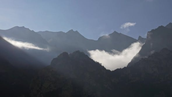 Thumbnail for Outlines of the Mountains in the Rays of the Pre-dawn Sun