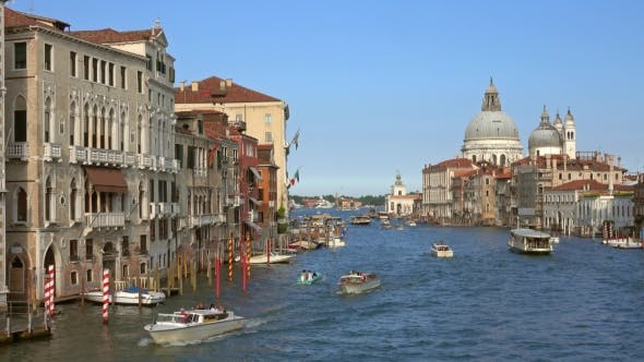 Thumbnail for Grand Canal and Basilica Santa Maria in Venice