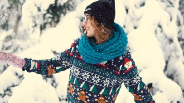 Thumbnail for Girl Throwing Up Snow