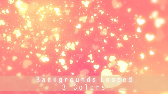 Thumbnail for Romantic Hearts Background