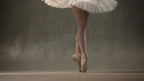 Thumbnail for Young Ballet Dancers In Studio