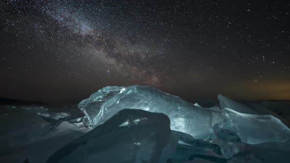 Time Lapse of Milky Way