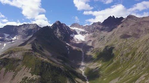 Big snowy rocky mountains