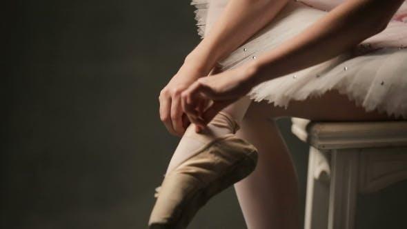 Thumbnail for Ballerina In Ballet Studio
