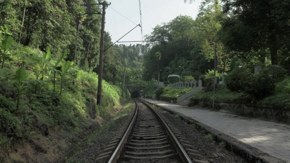 Thumbnail for Railway in Hot Summer