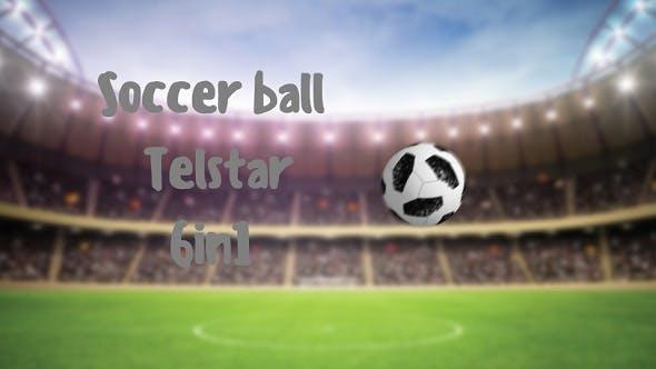 Thumbnail for Soccer Ball Telstar 6in1