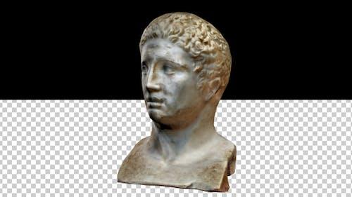 Greek Head Statue