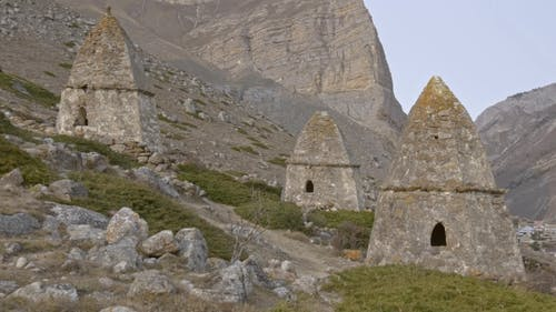 Tombs of the Shrine in the Rocky Mountains
