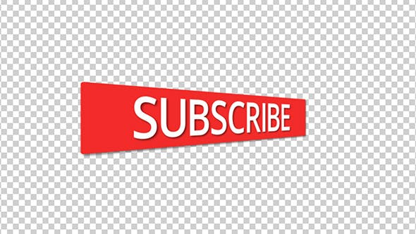 Thumbnail for Subscription Button With Alpha Channel