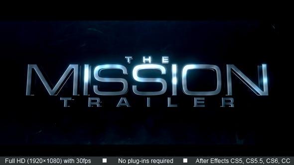 Mission Trailer