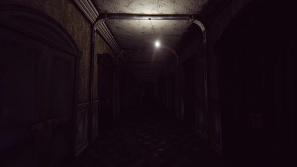 Horror Hotel Corridor