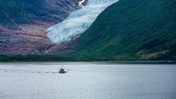 Thumbnail for Svartisen Glacier in Norway