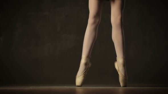 Thumbnail for Ballerina In Tutu And Pointe