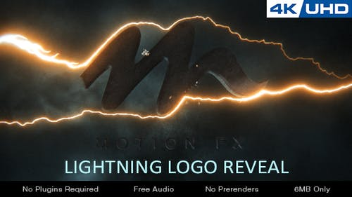 Lightning Logo Reveal