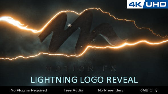 Thumbnail for Lightning Logo Reveal