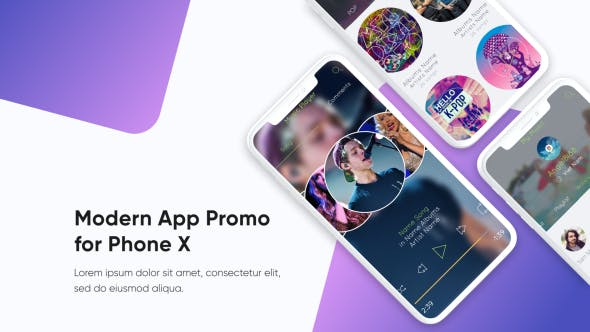 Thumbnail for Modern App Promo
