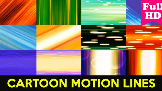 Thumbnail for Cartoon Motion Lines