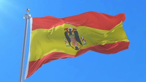 Flag of Spain in the Franco Dictator Era