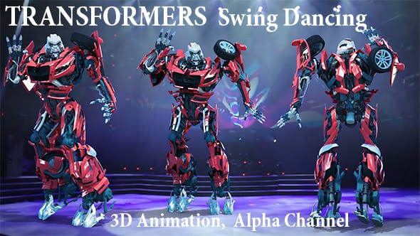 Thumbnail for Transformers Swing Dancing