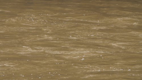 Flood Waters Moving Slowly