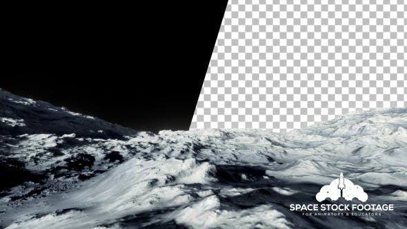Thumbnail for Moon Surface With Transparent Background