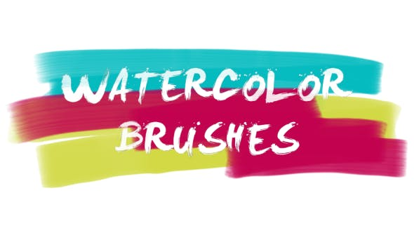 Thumbnail for 30 Watercolor Brushes