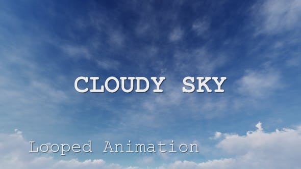 Thumbnail for Cloudy Sky 1