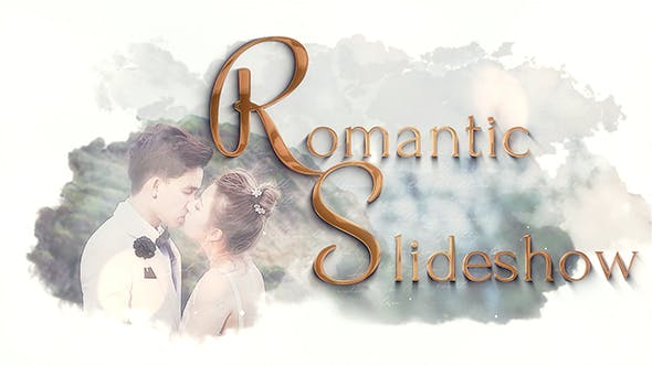 Thumbnail for Romantic Slideshow  | After Effects Template