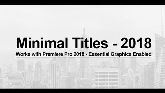 Thumbnail for Essential Minimal Titles
