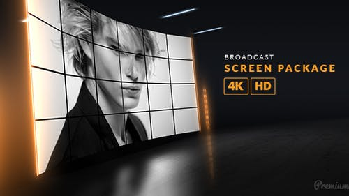 Broadcast Screen Package