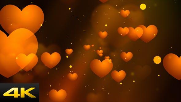 Warm Romantic Hearts