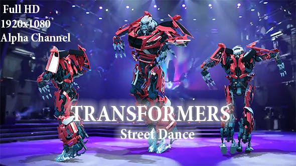 Thumbnail for Street Dance Robot