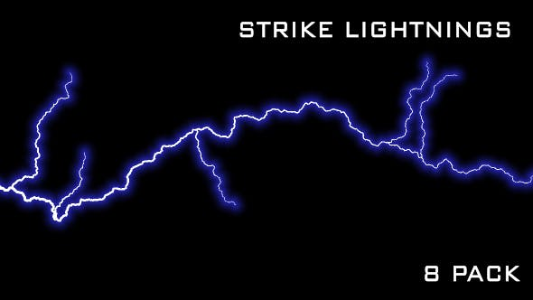 Thumbnail for Strike Lightnings - Pack of 8