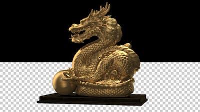 Chinese Golden Dragon