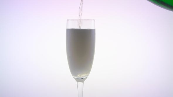 Thumbnail for Champagne Poured Into Glass