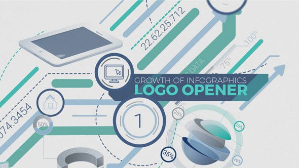 Thumbnail for Growth Of Infographics Logo Opener