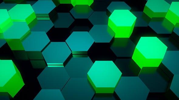 Neon Polygonals Loop