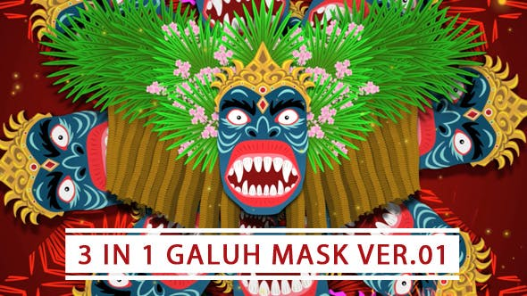 Thumbnail for 3 In 1 Galuh Mask Ver 01