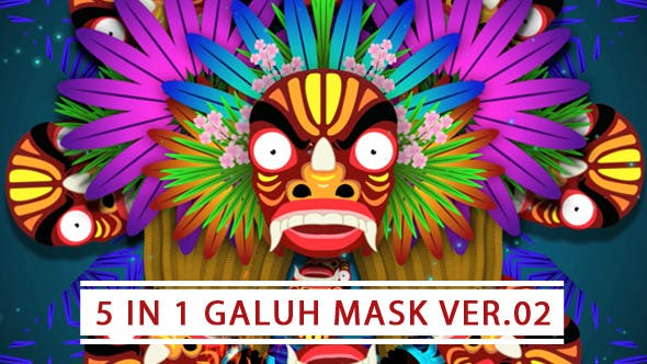 Thumbnail for 5 In 1 Galuh Mask Ver 02