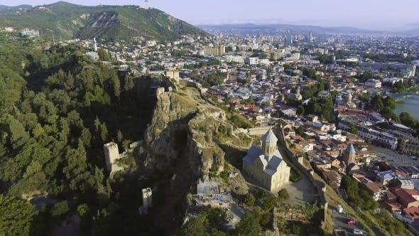 Thumbnail for Narikala Castle in Tbilisi, Georgia.