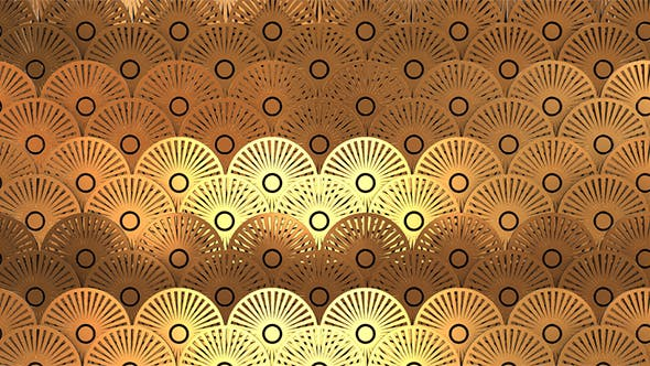Thumbnail for Art Deco Gold Pattern