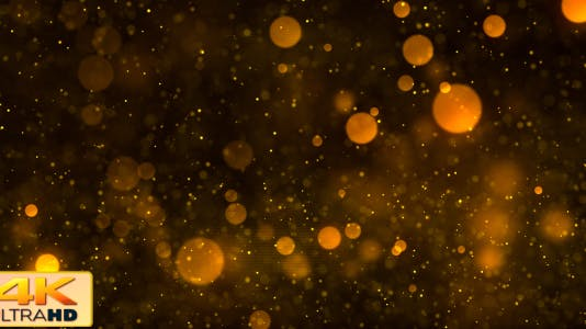Particle Glitters Gold