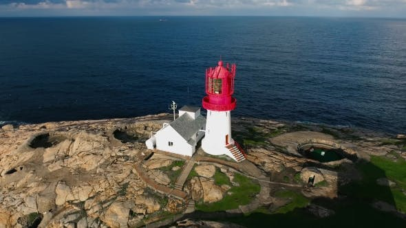 Cover Image for Lindesnes Fyr Lighthouse, Norway