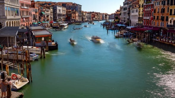 Thumbnail for Grand Canal in Venice, Italy  Video