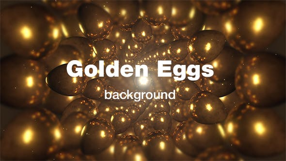 Thumbnail for Golden Eggs Background