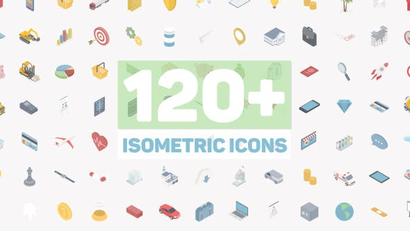 Thumbnail for Isometric Icons