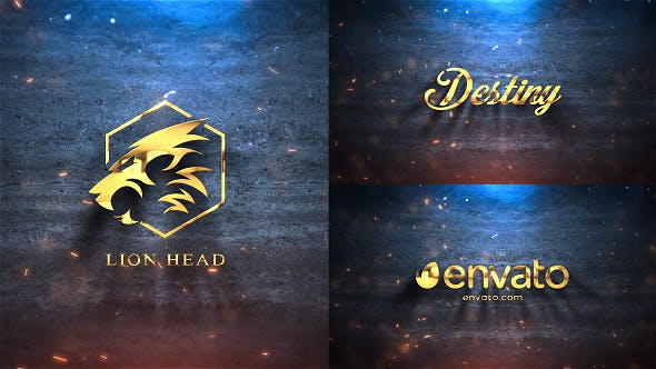 Thumbnail for Silver & Gold Logo Reveal